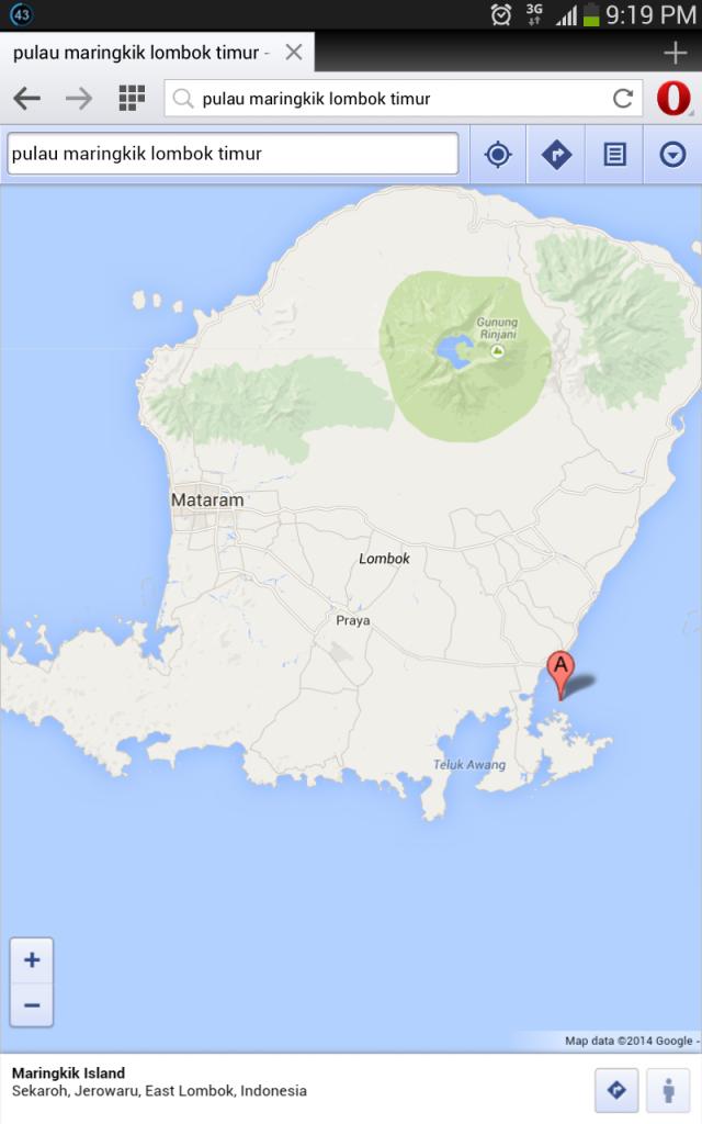 Pulang Maringkik di Timur-Selatan Pulau Lombok