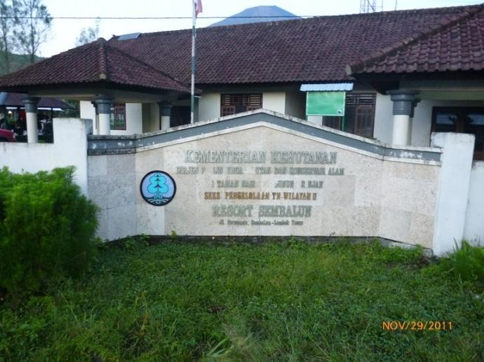 Kantor Taman Nasional Gunung Rinjani