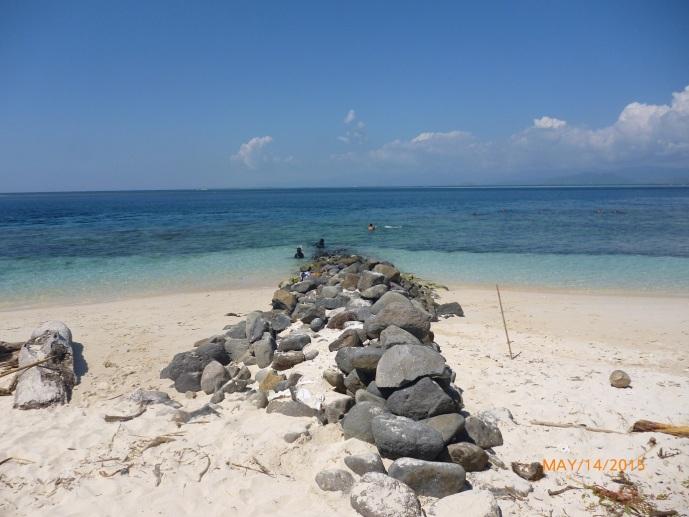 Lokasi Snorkeling Ada Di Pinggir Sini