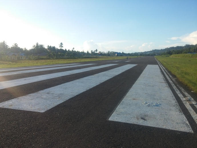 Di Bintuni Ada Bandara yaitu Bandara Steenkool. Hanya Pesawat Kecil yang Mendarat di Bandara Kecil Ini. Sore Hari, Saat Sudah Tidak Ada Penerbangan, Landasan Suka Digunakan Sebagai Tempat Joging