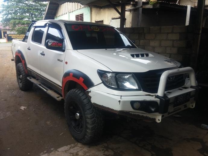 Toyota Hilux, Kendaraan Primadona Papua